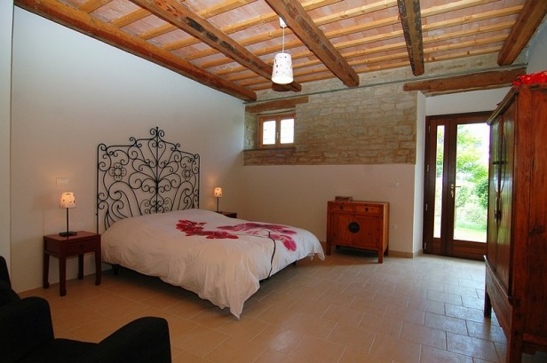 Bed & Breakfast Casa dei Colli - Kamer Rosa